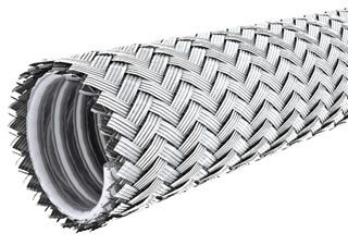 Braided metal hose